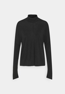 InWear - CLOSE TO HOME ROLLNECK - Strickpullover - black