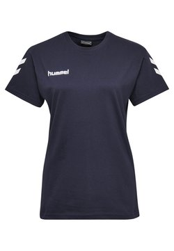 Hummel - GO WOMAN - T-shirt print - marine
