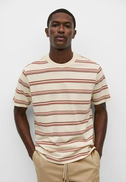 Mango - OLAFUR - T-Shirt print - écru