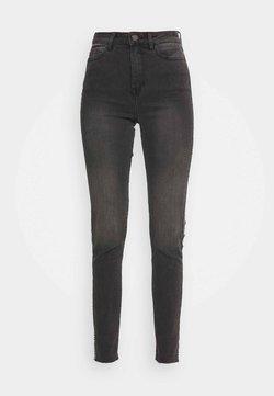 Vila - VIEKKO - Jeans Skinny Fit - dark grey denim