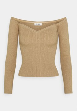 4th & Reckless - CHRISTY - Strickpullover - beige