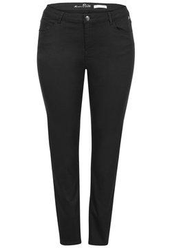 Miss E - ELISE - Slim fit jeans - black
