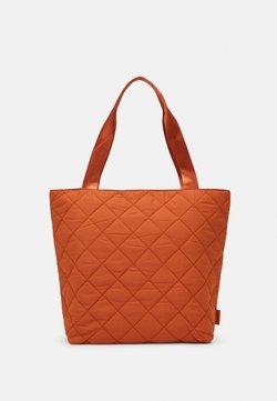 TOM TAILOR DENIM - FANNA - Shopping bag - cognac