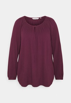 MY TRUE ME TOM TAILOR - BLOUSE WITH STRUCTURE - Bluse - gipsy purple