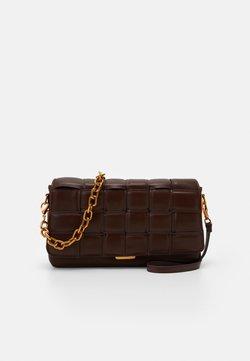 ALDO - Handtasche - brown/gold