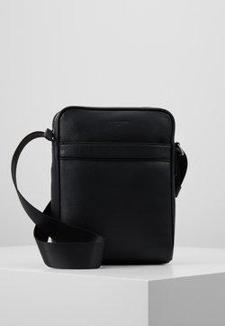 Le Tanneur - MEDIUM CROSS BODY BAG - Umhängetasche - noir