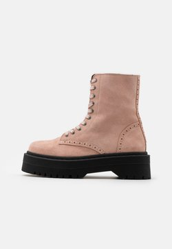 YAS - YASMILANI BOOTS - Plateaustiefelette - misty rose