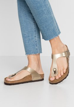 Birkenstock - GIZEH - Chaussons - gold