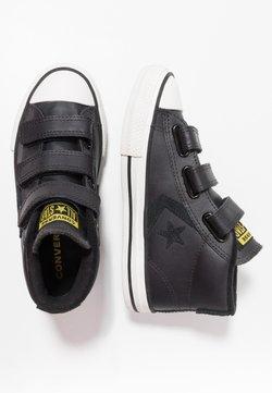 Converse - STAR PLAYER ASTEROID MID - Sneakers hoog - almost black/black