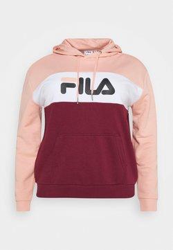 Fila Plus - LORI HOODY - Jersey con capucha - bordeaux