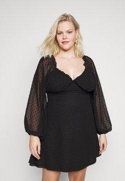 Missguided Plus - Cocktailklänning - black