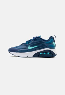 Nike Sportswear - AIR MAX EXOSENSE UNISEX - Baskets basses - mystic navy/bleached turquoise/coastal blue/green abyss/white/leche blue