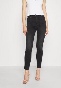 Diesel - D-ROISIN-HIGH - Jeans Skinny Fit - washed black