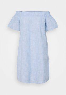 Missguided Tall - BARDOT MINI DRESS - Vapaa-ajan mekko - blue