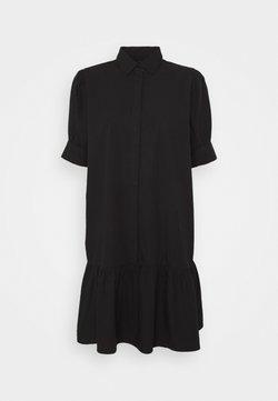 Bruuns Bazaar - FREYIE ALISE SHIRTDRESS - Vestido camisero - black