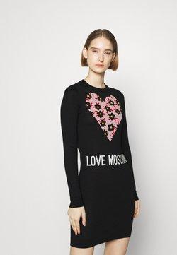 Love Moschino - Vestido de punto - black