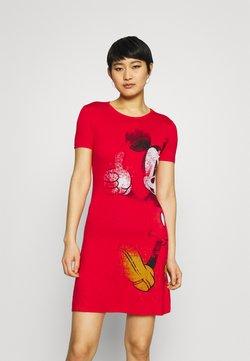 Desigual - Vestido ligero - red