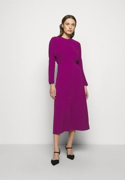 Victoria Beckham - LONG SLEEVE DOLMAN MIDI - Cocktail dress / Party dress - orchid