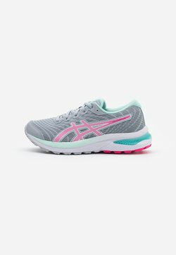 ASICS - GEL-CUMULUS 22 UNISEX - Neutral running shoes - piedmont grey/pink glow