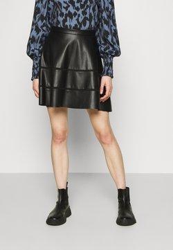 ONLY - ONLKATIE SKATER SKIRT - Mini skirt - black
