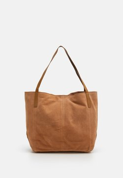 Anna Field - LEATHER - Torba na zakupy - tan