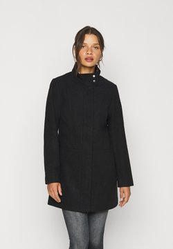 ONLY Petite - ONLCHRISA LIFE COAT - Abrigo corto - black