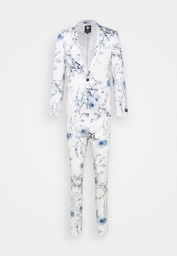 Twisted Tailor - BLOSSOM SUIT - Costume - white blue
