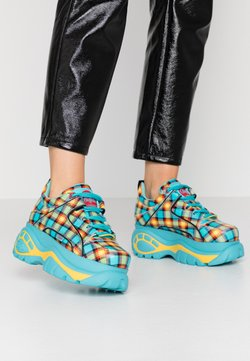 Buffalo London - Sneakersy niskie - turquoise/yellow/black/red
