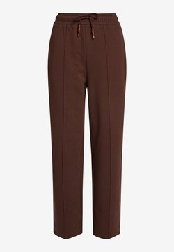 Next - CO-ORD WIDE - Jogginghose - dark brown