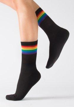 Calzitaly - PACK 2 - Socken - black