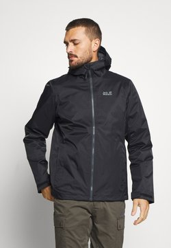 Jack Wolfskin - FROSTY MORNING - Outdoorjacke - black