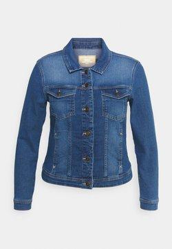ONLY Carmakoma - CARWESPA LIFE JACKET  - Veste en jean - medium blue denim