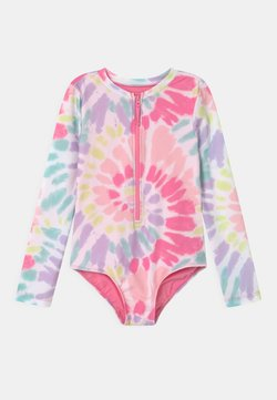 GAP - GIRL TIE DYE RASHGUARD - Baddräkt - multi-coloured