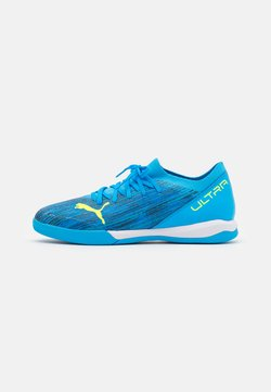 Puma - ULTRA 3.2 IT - Chaussures de foot en salle - energy blue/yellow alert