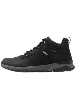 s.Oliver - Sneaker high - black