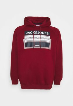 Jack & Jones - JCOBOOSTER - Sweat à capuche - sun dried tomato