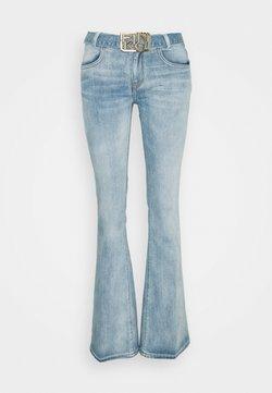 Pinko - FELIZ 2 FLARE COMFORT - Jeans a zampa - blue denim