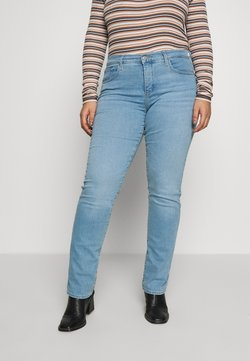 Levi's® Plus - 314 PL SHAPING STRAIGHT - Jeans Straight Leg - berlin summer plus