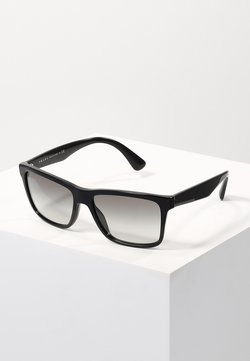 Prada - Lunettes de soleil - black/grey gradient