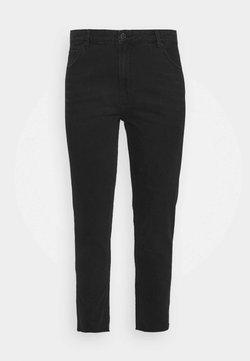 ONLY Carmakoma - CARMILY - Straight leg -farkut - black