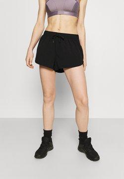 Cotton On Body - LIFESTYLE MOVE JOGGER SHORT - Pantalón corto de deporte - black/mid grey marle