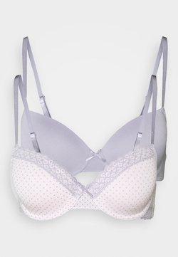 DORINA - KENDRA 2 PACK - Beugel BH - pink/grey
