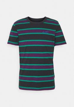 YOURTURN - UNISEX - T-Shirt print - green/purple