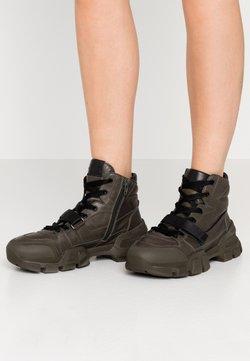 Kennel + Schmenger - ACE - Sneakers hoog - dark green