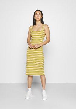 Glamorous - MIDAXI DRESS WITH WIDE STRAPS - Jersey dress - green orange