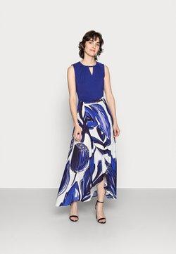 Thought - NATALIA WRAP DRESS - Maxikleid - azure blue
