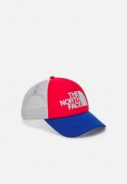 The North Face - LOGO TRUCKER UNISEX - Casquette - horizon red/blue