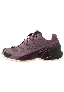 Salomon - SPEEDCROSS 5 GTX - Löparskor terräng - flint/black/bellini