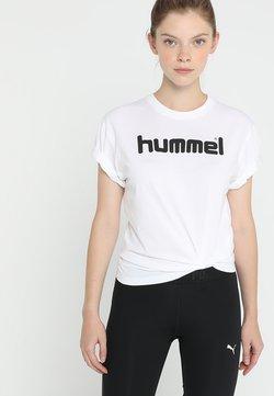 Hummel - HMLGO  - T-shirt print - white