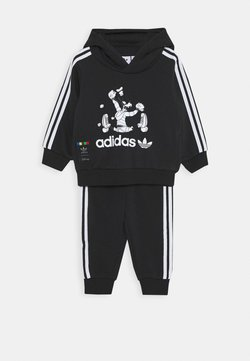 adidas Originals - GOOFY HOODIE DISNEY - Træningssæt - black